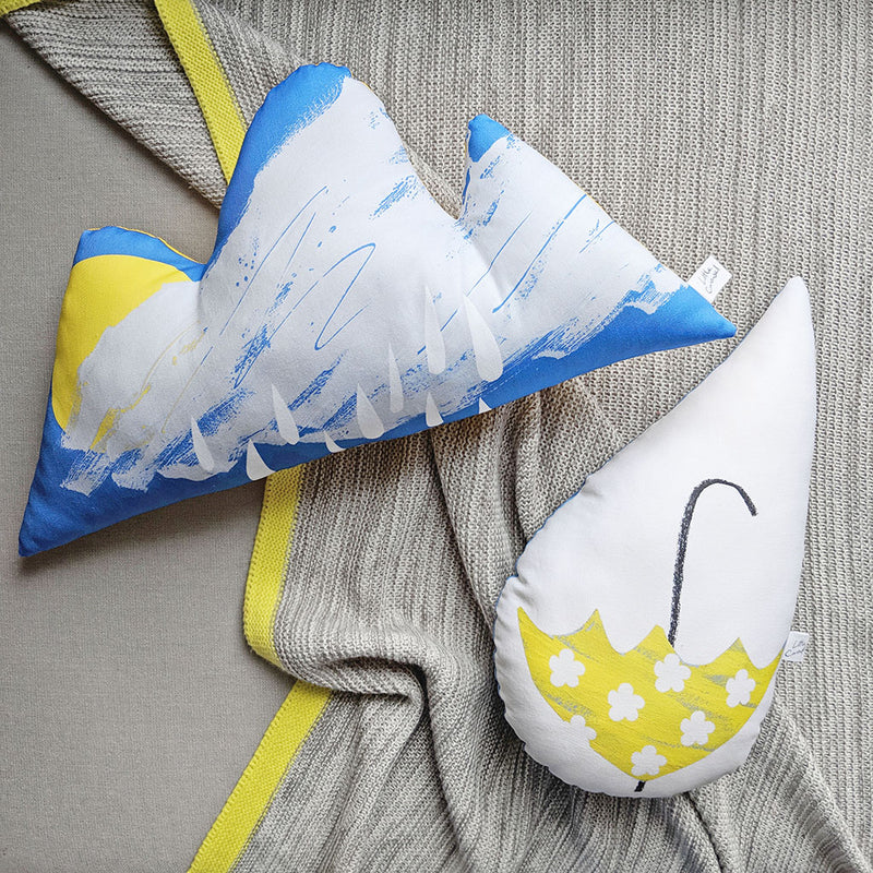 RAINDROP UMBRELLA CUSHION