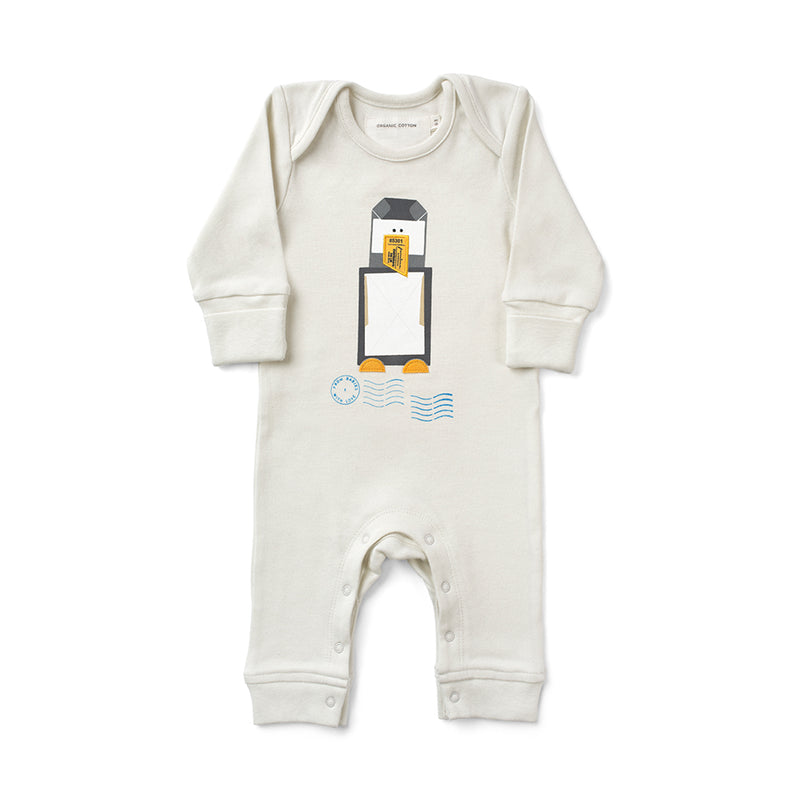 ORGANIC PENGUIN BABY GROW