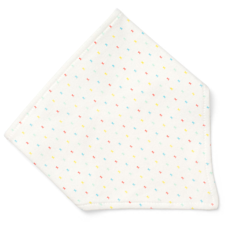 ORGANIC FIRST KISSES ADJUSTABLE BANDANA BIB