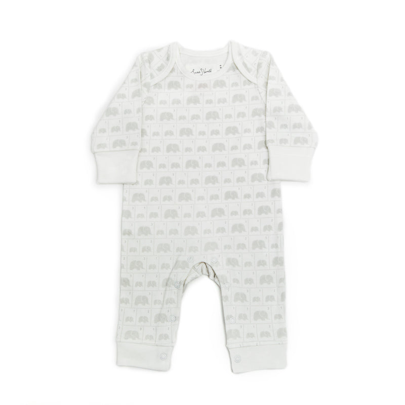 ORGANIC ELEPHANT FAMILY BABY GROW