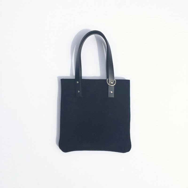 KIDS KONOC - LITTLE AUK TOTE BAG - BLACK
