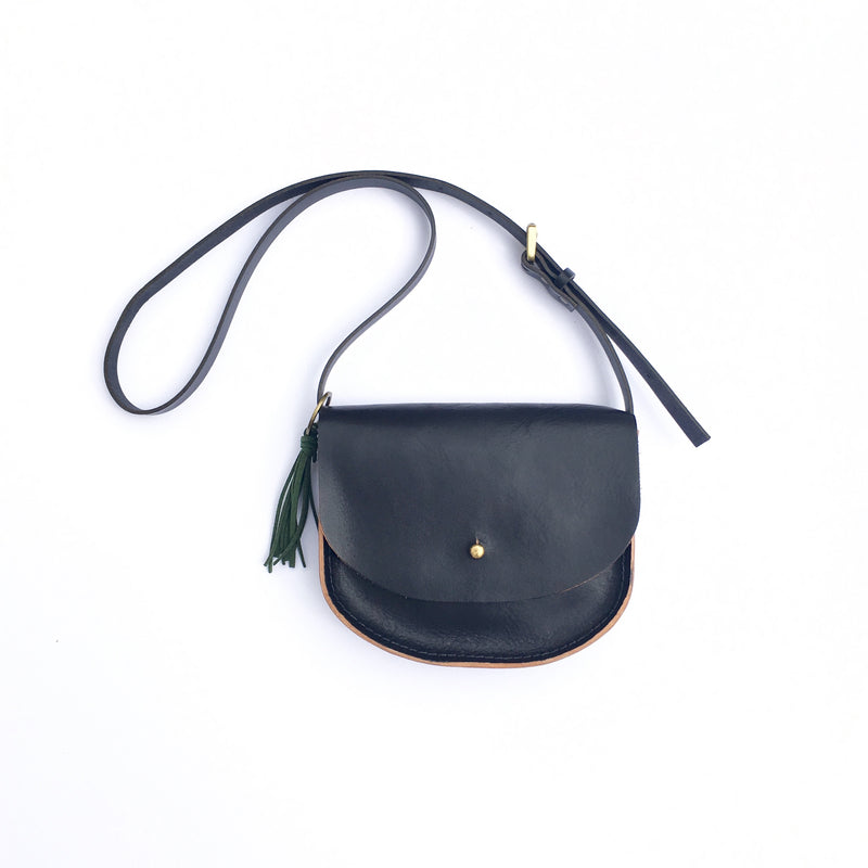 KIDS KONOC - JAY BIRD SATCHEL - BLACK