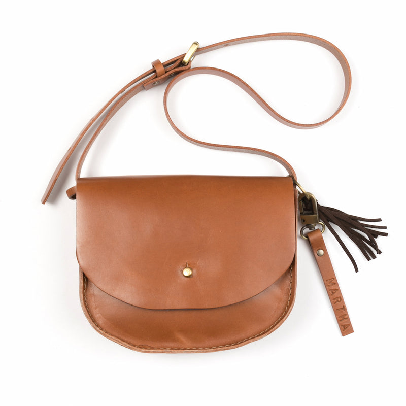 KIDS KONOC - JAY BIRD SATCHEL - BROWN