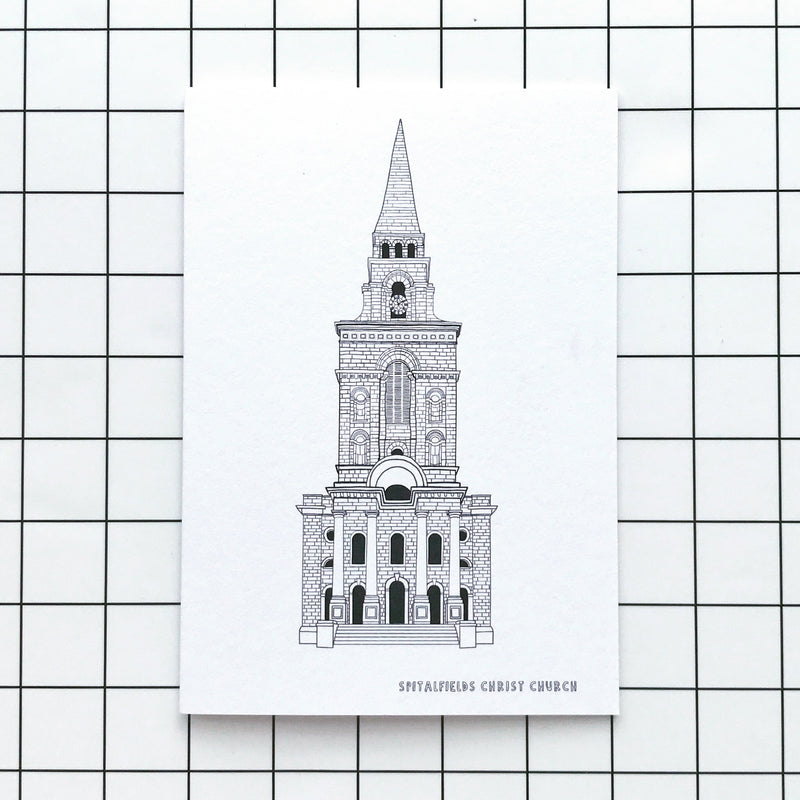 Spitalfields Church Card