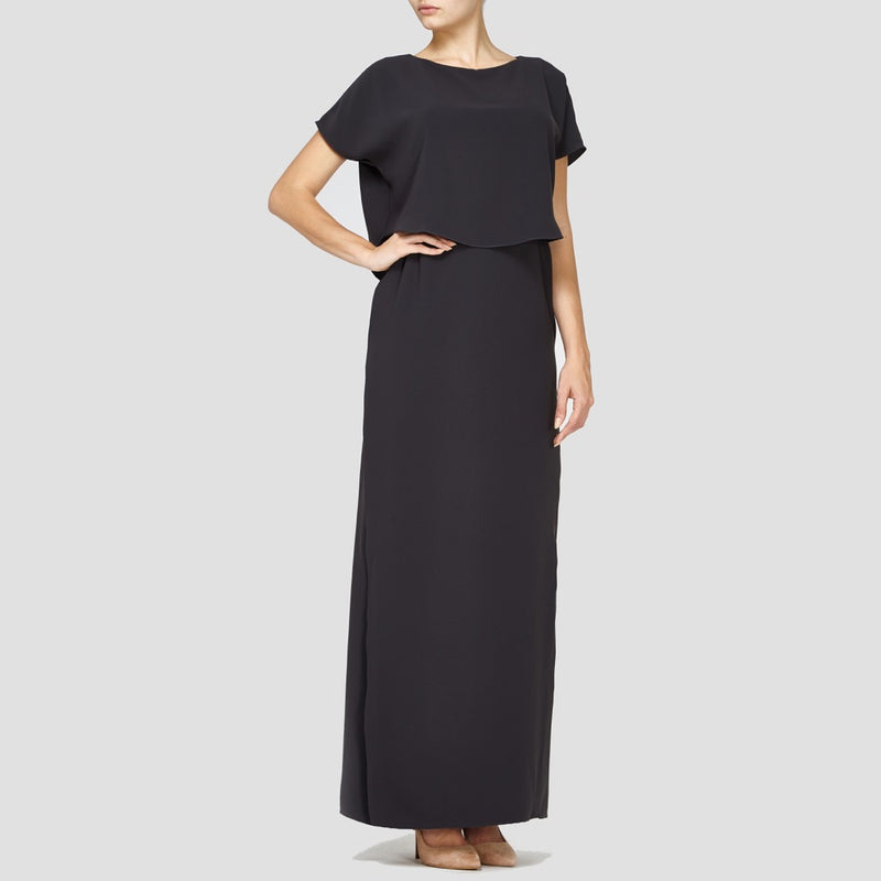 CHARCOAL BELLA MAXI DRESS
