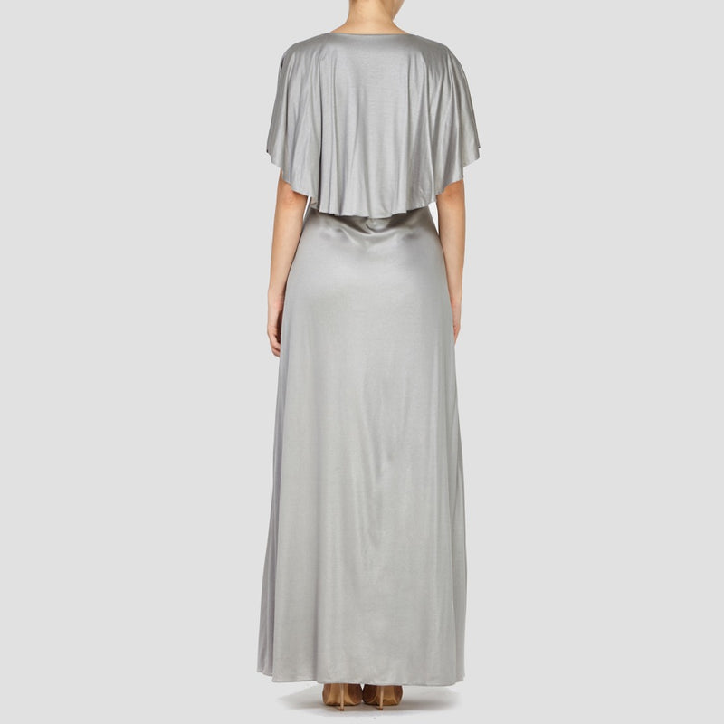 GREY LINDSEY MAXI DRESS