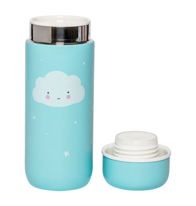 Insulated Drink Bottle: Cloud by A Lovely Little Company