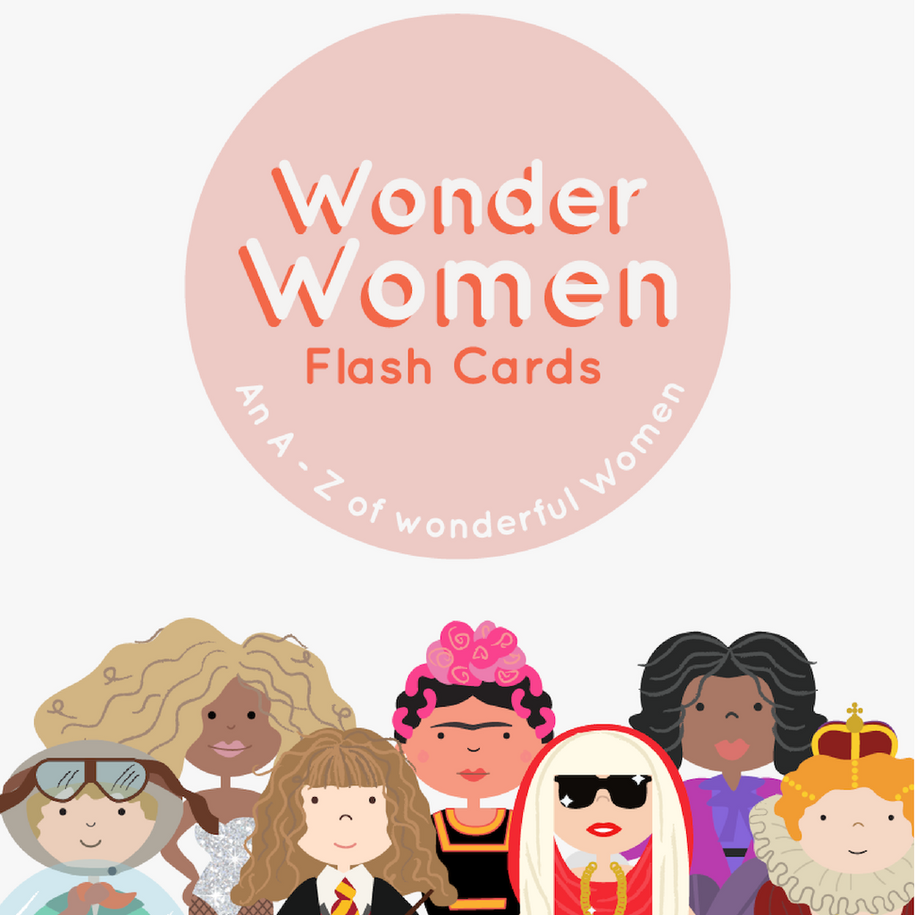 Wonder Women Flash Cards: An A-Z of Wonderful Women
