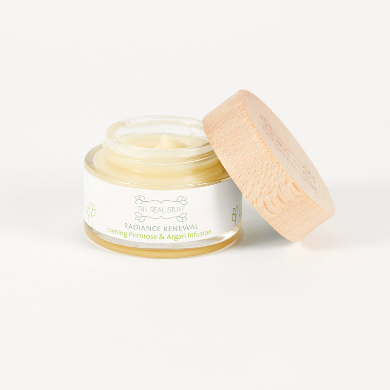 Radiance Renewal Evening Primrose & Argan Infusion Organic Face Cream