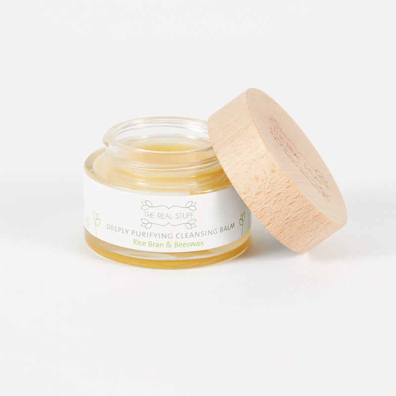 Deeply Purifying Cleansing Balm with Rice Bran & Beeswax