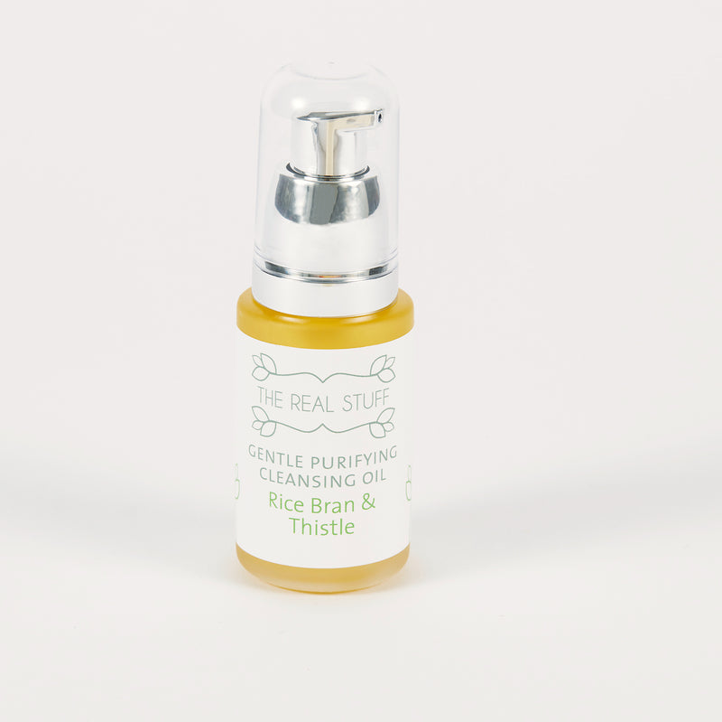 Gentle Purifying Cleansing Oil Rice Bran & Thistle