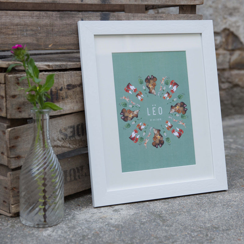 F O R E S T  CUSTOMISED CHILDREN'S WALL PRINT