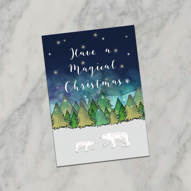 WILDERNESS CHRISTMAS CARDS PACK OF 6