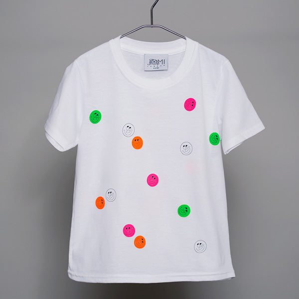 JOMI, BIG SMILES, SHORT SLEEVE T-SHIRT
