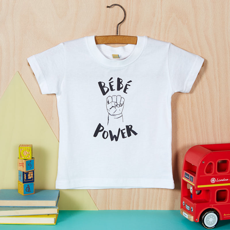 BEBE POWER T-SHIRT