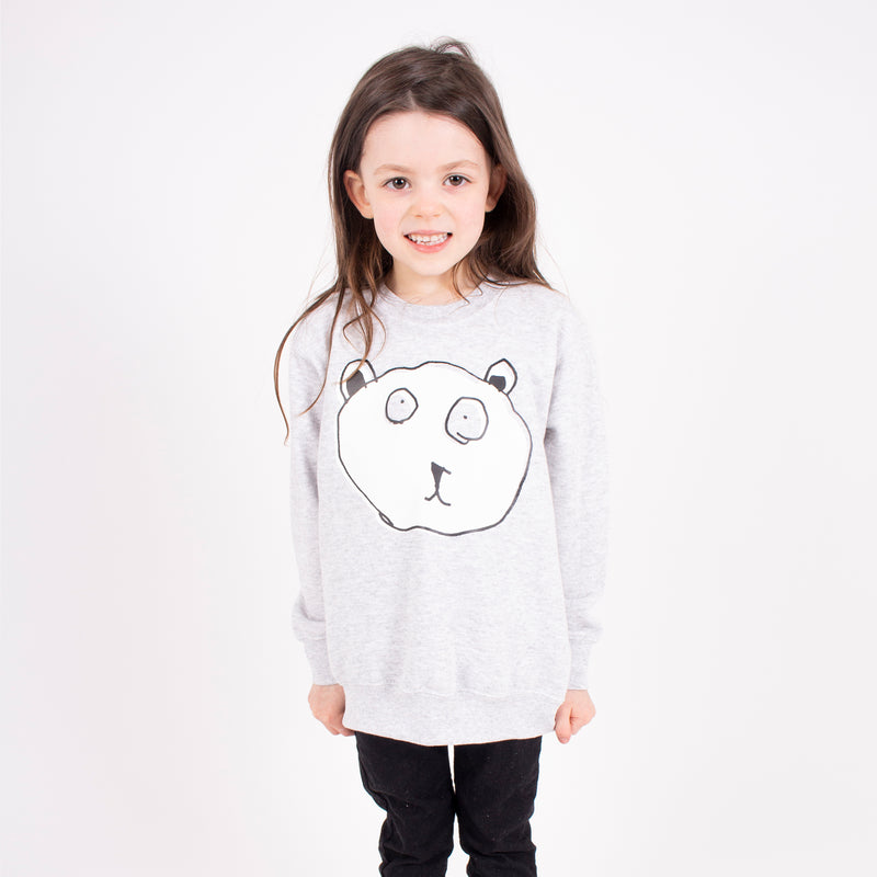 BEAR HEAD KIDS SWEATER