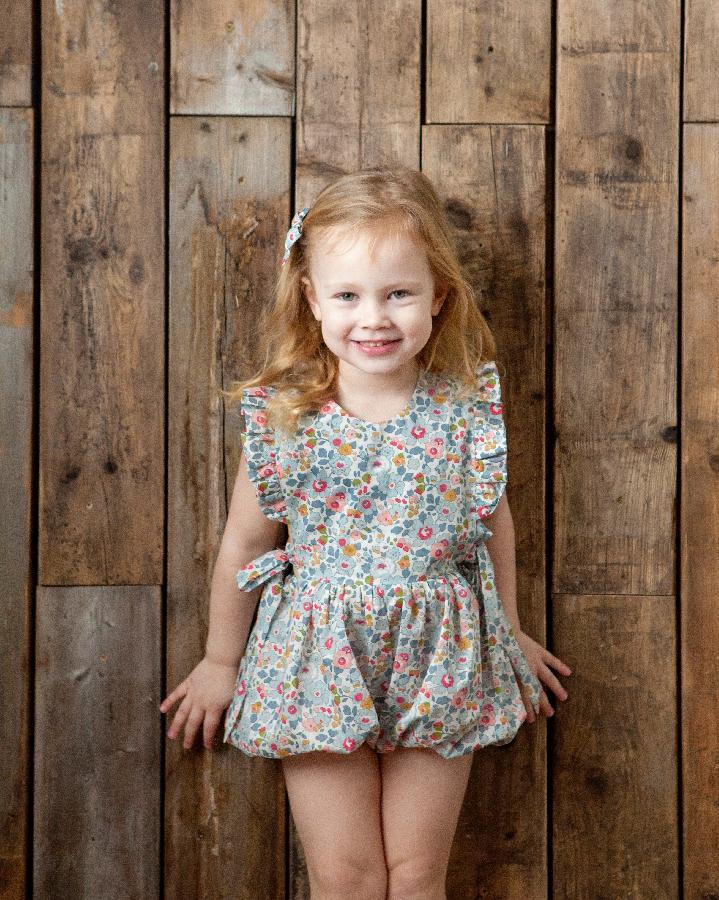 EVE LIBERTY PRINT FRILL PLAYSUIT