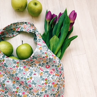 LIBERTY PRINT ECO SHOPPER TOTE