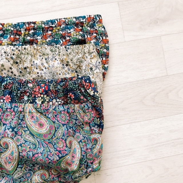 BLOSSOM GIRLS LIBERTY PRINT BLOOMERS