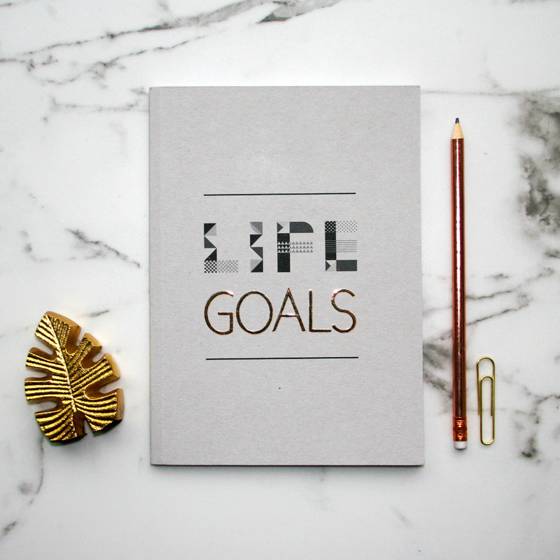 LIFE GOALS NOTEBOOK
