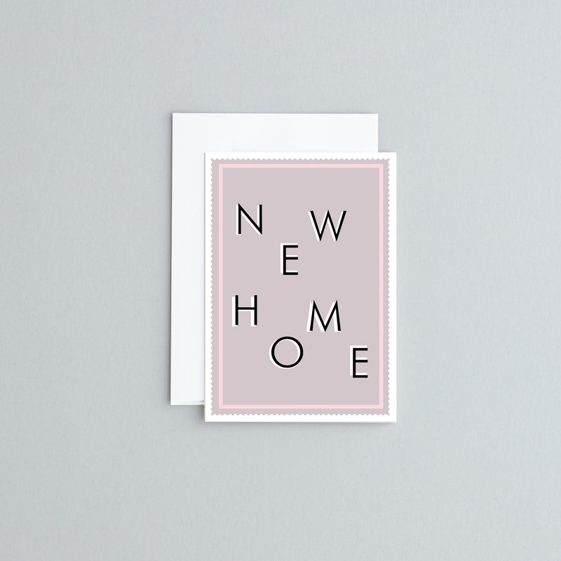 New Home - Greetings Card