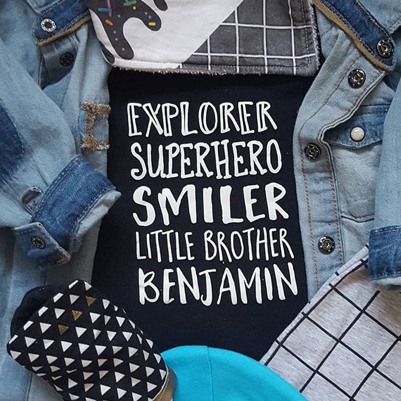 PERSONALISED 'ALTER EGO' T SHIRT OR SWEATSHIRT