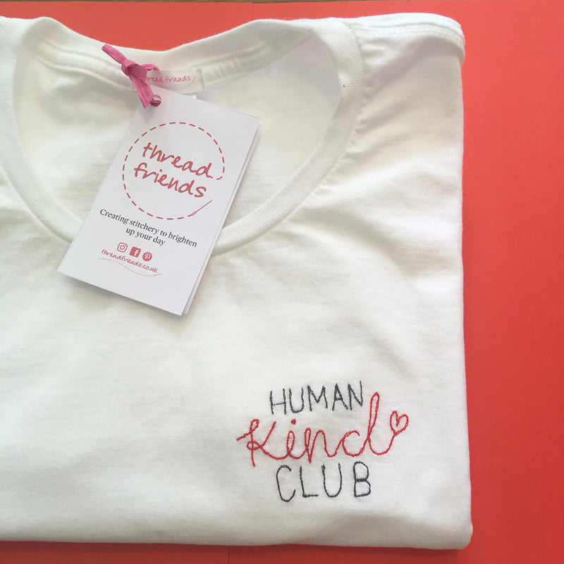 HUMAN KIND CLUB T SHIRT