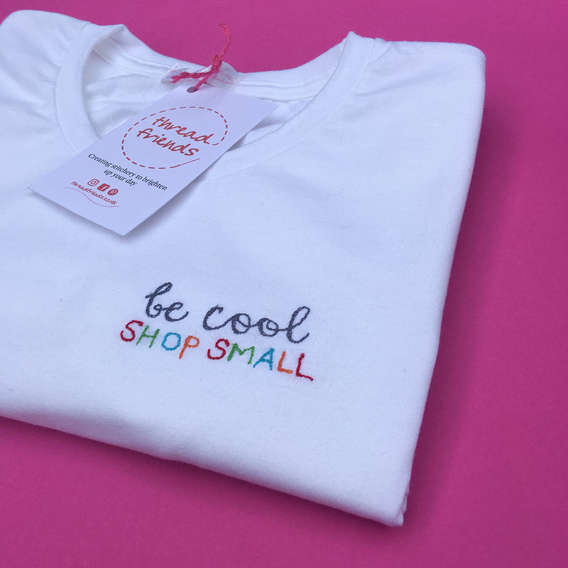 BE COOL SHOP SMALL T SHIRT