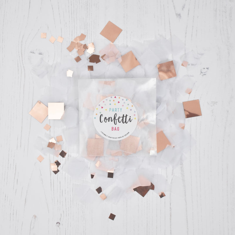 PARTY CONFETTI BAG (EIGHT COLOUR OPTIONS)