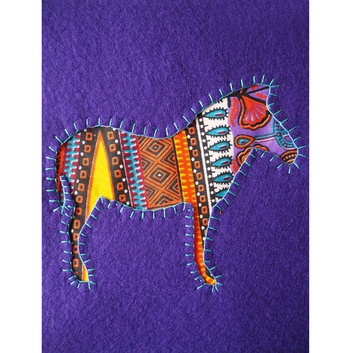 UNIQUE HAND EMBROIDERED AFRICAN ANIMAL PICTURES