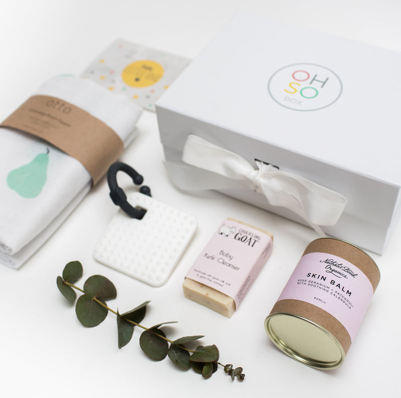 The OhSo 'Soothe and Cleanse' Gift Box for baby