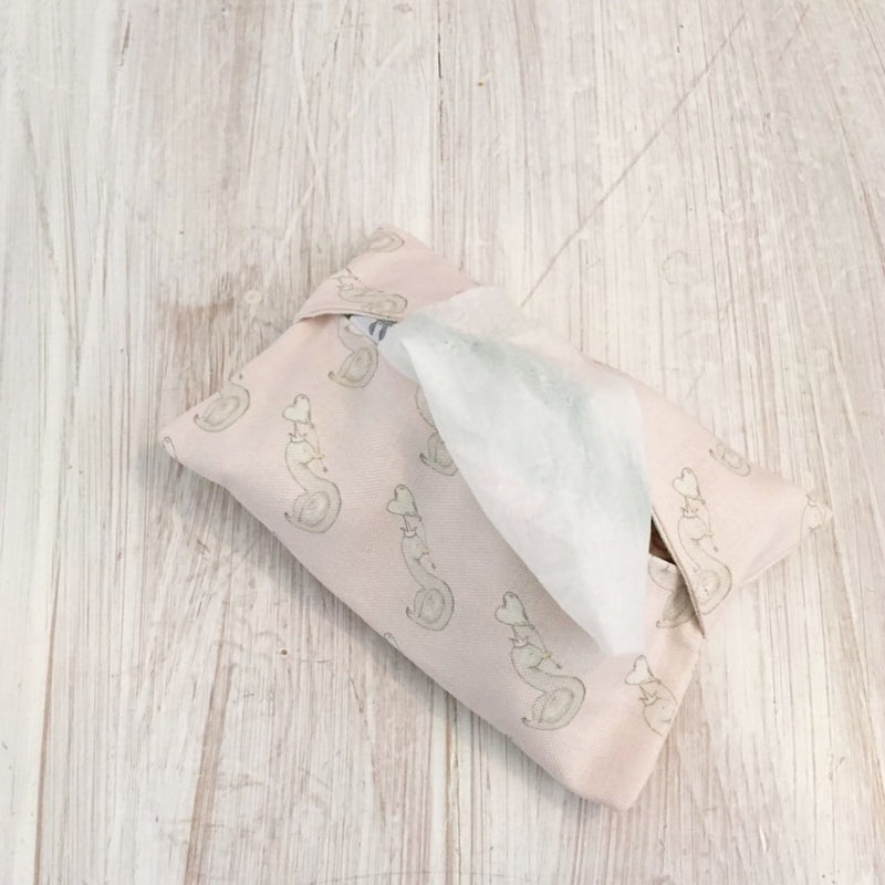 LITTLE SWAN WET WIPE HOLDER - VARIOUS COLOURS