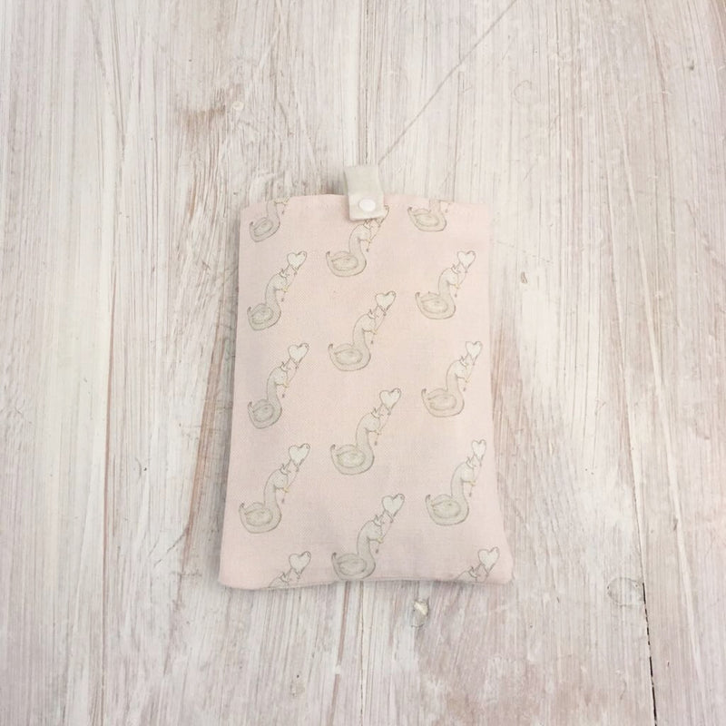 LITTLE SWAN NAPPY POUCH - VARIOUS COLOURS