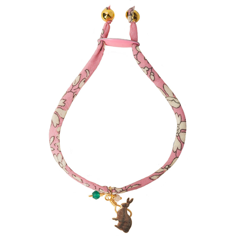 Liberty Print Rabbit Bracelet
