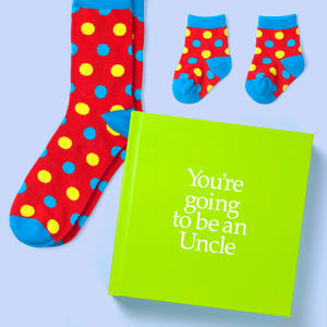Uncle to be gift book