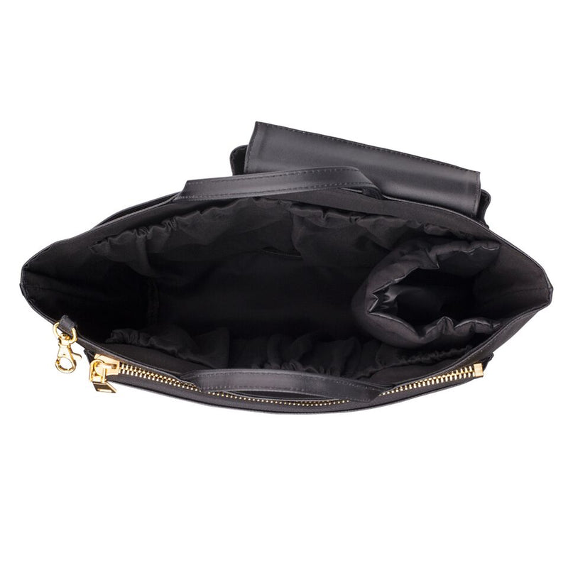 THE NAPPY SOCIETY CHANGING BAG INSERT - COMPACT BLACK
