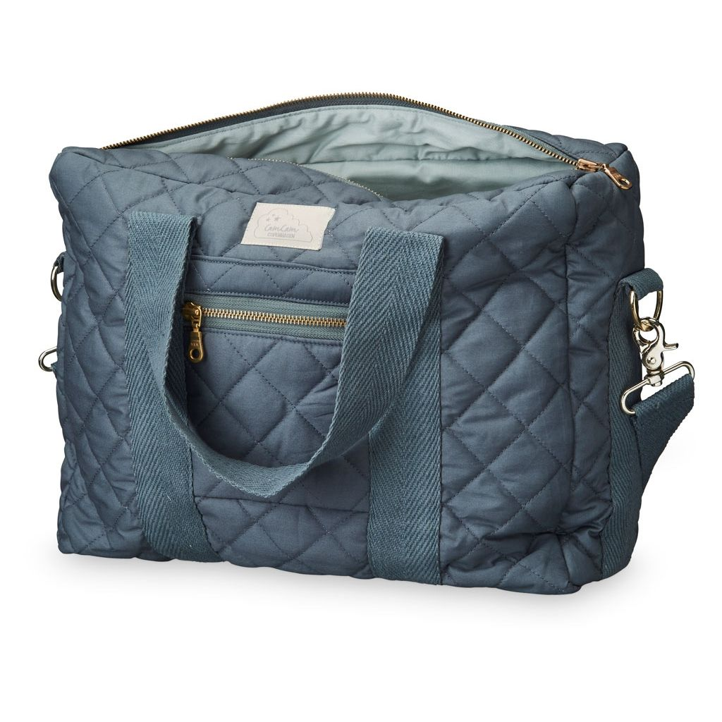 CAM CAM QUILTED CHANGING BAG - CHARCOAL 16L