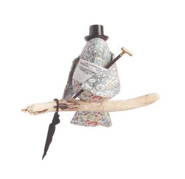 LIBERTY PRINT 'THE GENTLEMAN' BIRD MOBILE