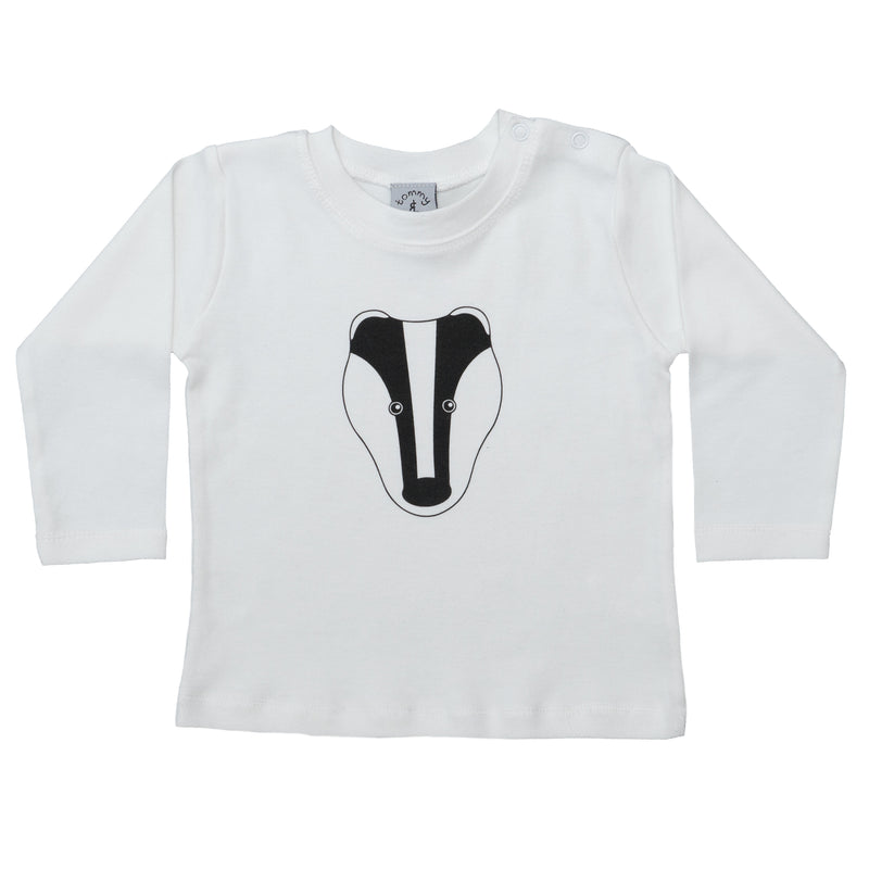 BADGER BABIES T SHIRT - AVAILABLE IN LONG OR SHORT SLEEVE