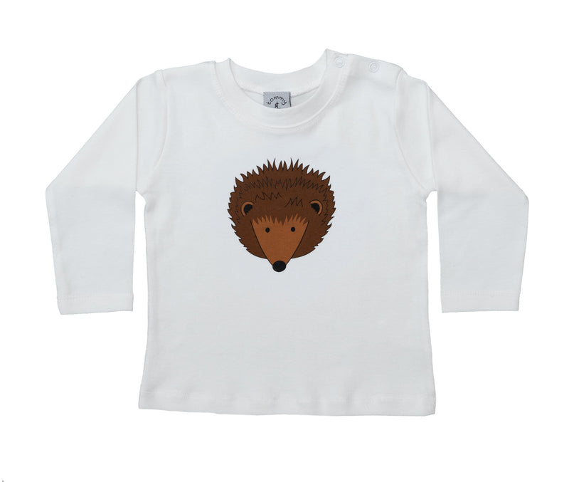 HEDGEHOG T SHIRT AND BABY LEGGINGS SET - AVAILABLE IN SHORT OR LONG SLEEVE