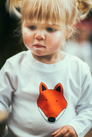 FOX T SHIRT AND LEGGINGS SET: IN SHORT OR LONG SLEEVE