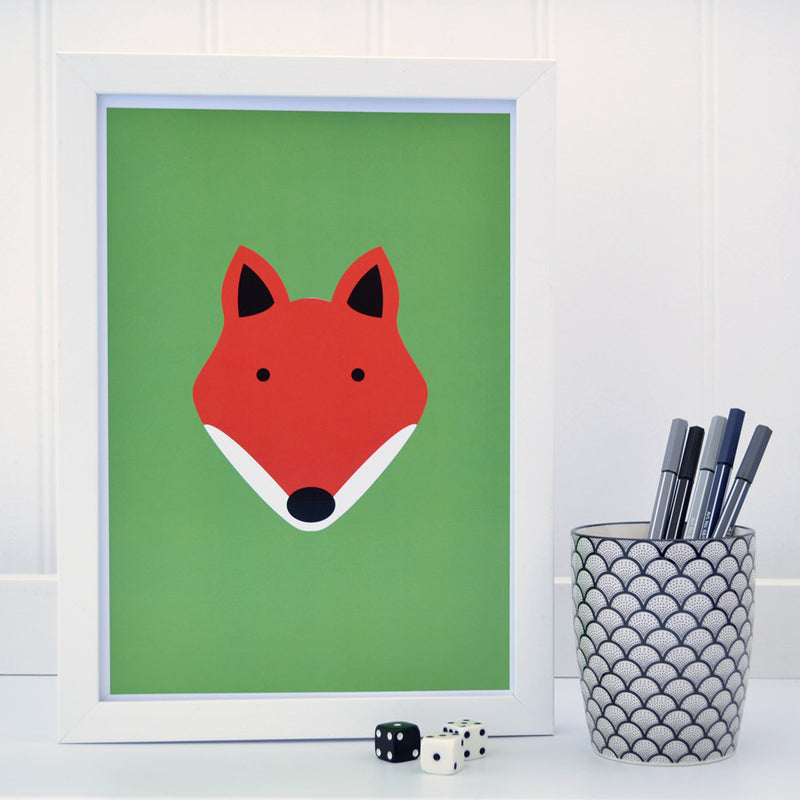FOX A4 PRINT - AVAILABLE IN 3 DESIGNS
