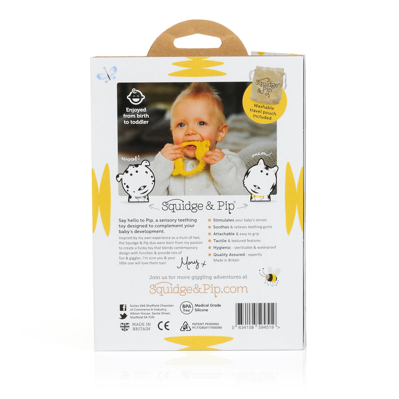 LUXURY NEW BABY GIFT - PIP SENSORY TEETHING TOY