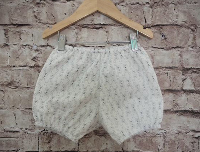'Wolfie' Pima Cotton Bubble Shorts