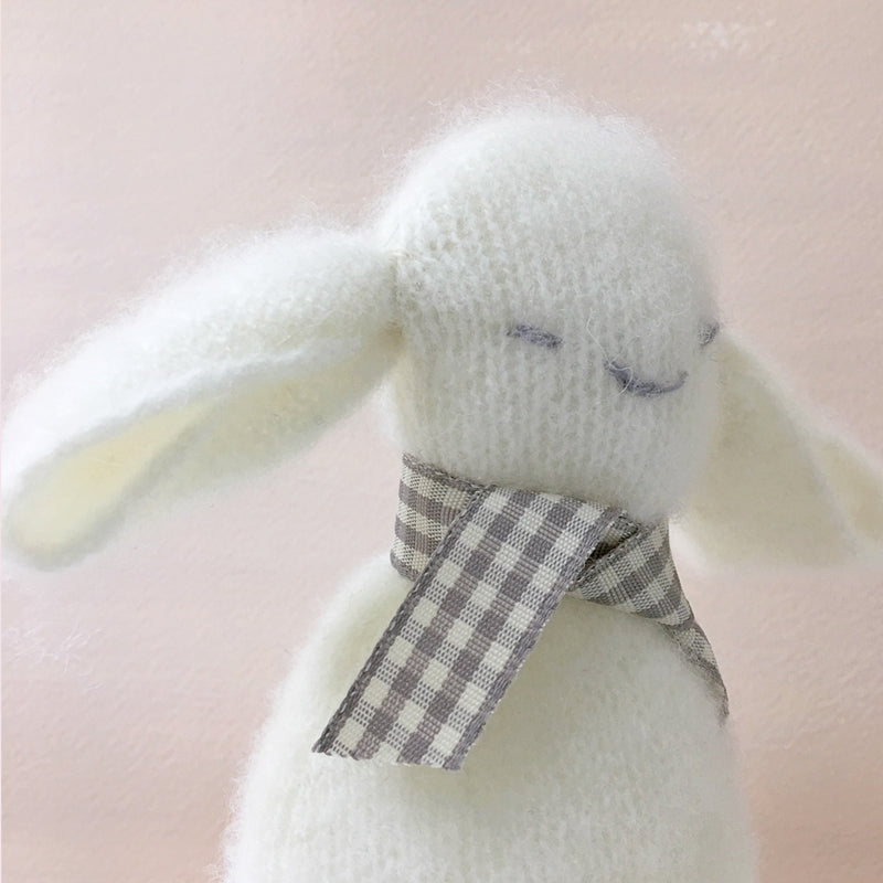 Little Lamb Pure Cashmere comforter with rattle.