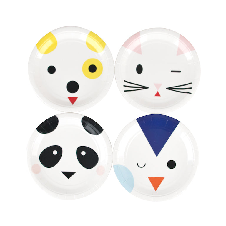 MINI ANIMALS | PAPER PLATES