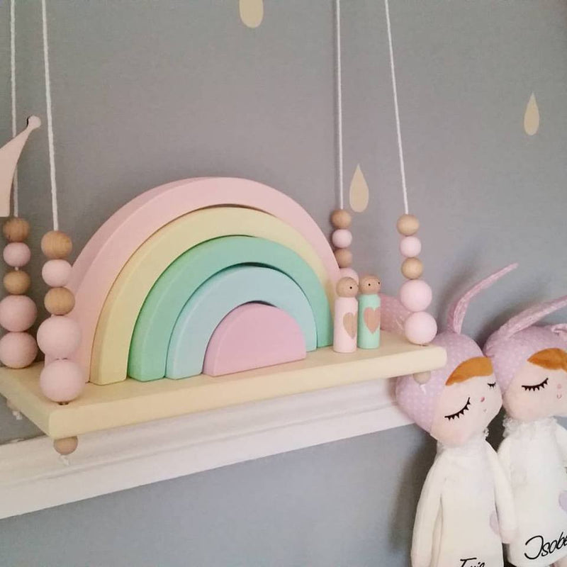 WOODEN RAINBOW- PERSONALISE YOUR RAINBOW