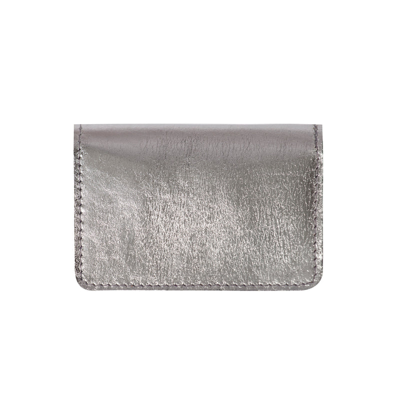 Orange & Silver Card Wallet