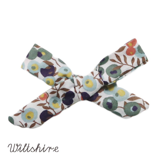 LIBERTY OF LONDON TIED HAIR BOW