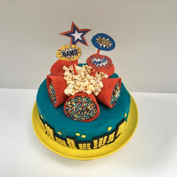 Superhero Cake Kit